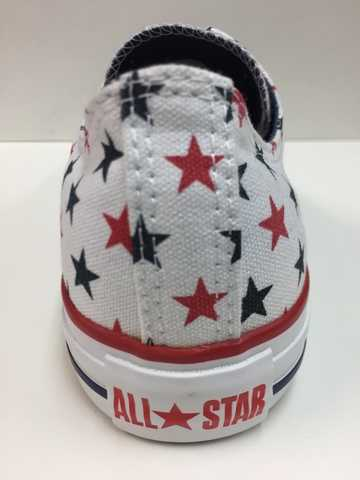 SCARPE SNEAKERS UNISEX CONVERSE ALL STAR ORIGINALE CT STAR OX 113979 SHOES NEW