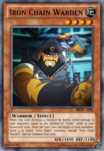 Iron Chain Support - Advanced Multiples - Yugioh Card Maker