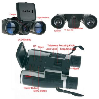 12x32 Full HD 1080P 5MP Video Digital Camera Binocular Telescope