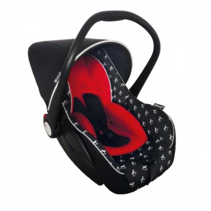Silla porta bebe para auto mecedora y antireflujo 505bla for Sillas para carro