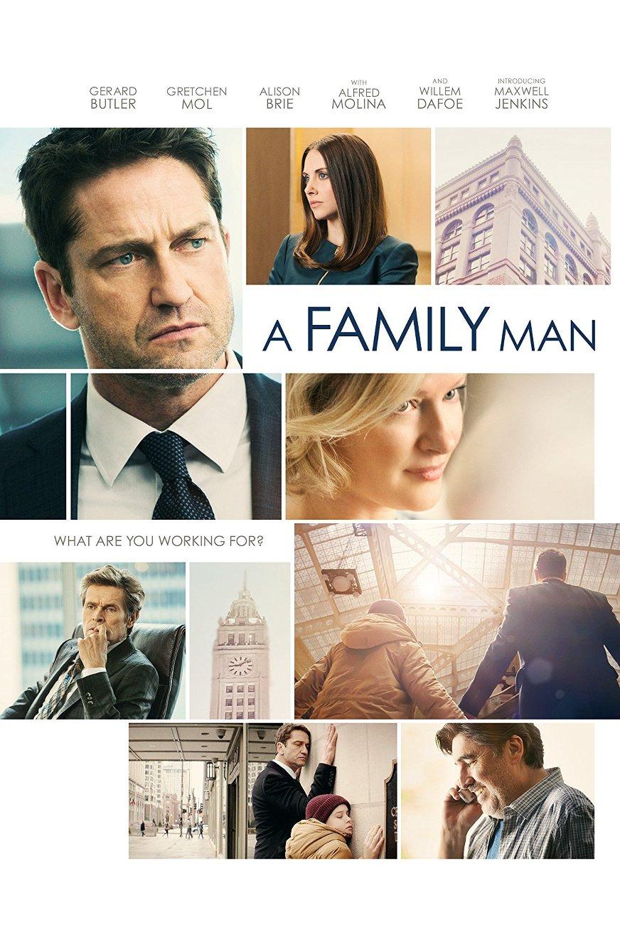 Ο Σύμβουλος (A Family Man) Poster