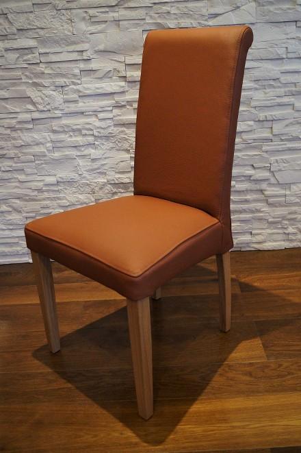 longlife echtleder st hle esszimmer echtleder stuhl lederst hle viele farben ebay. Black Bedroom Furniture Sets. Home Design Ideas