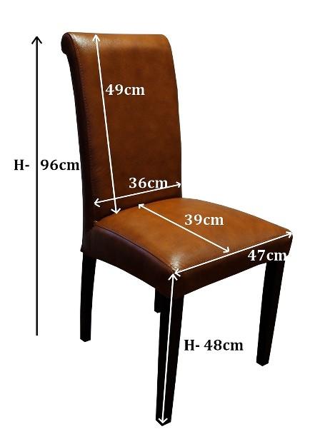 braun echtleder stuhl 100 echtes leder st hle lederst hle. Black Bedroom Furniture Sets. Home Design Ideas