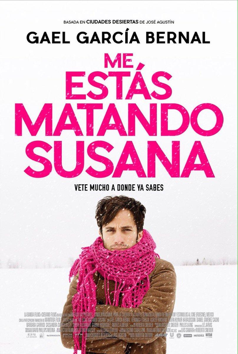 Σουζάνα με σκοτώνεις (Me estás matando Susana) Poster