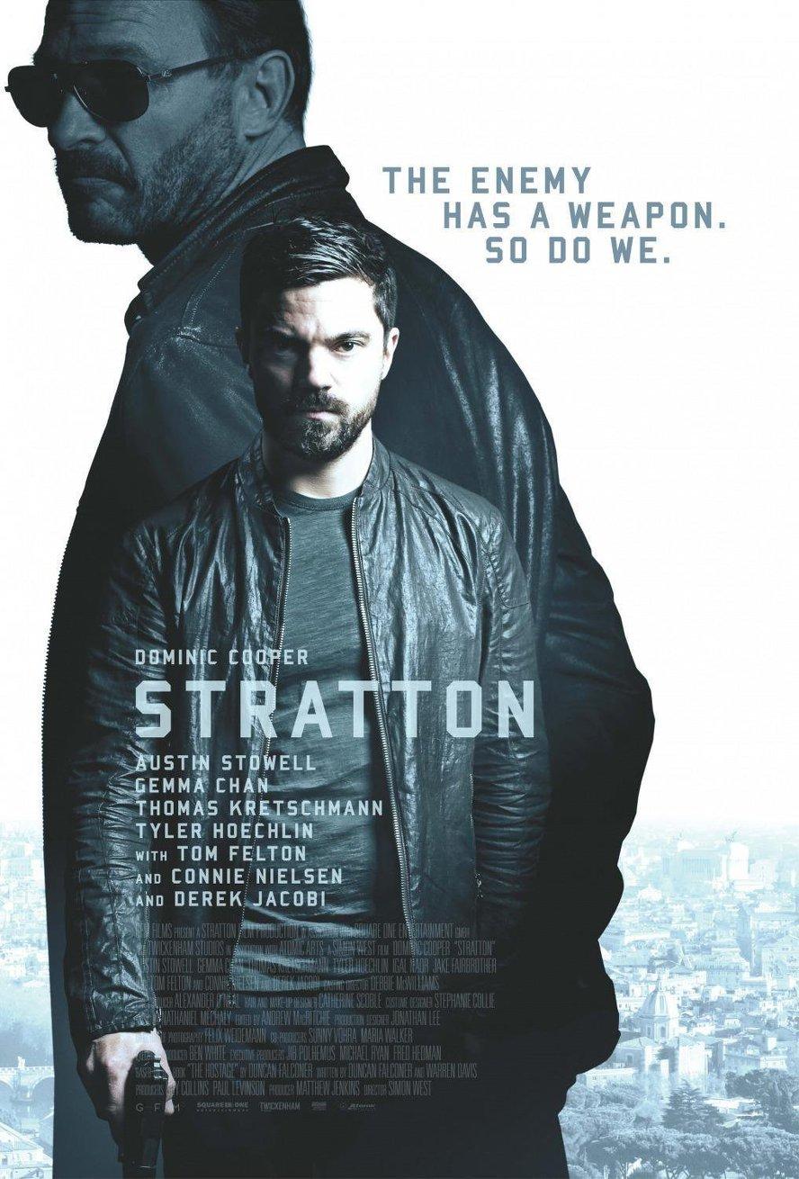 Επίλεκτος πράκτορας Stratton (Stratton) Poster