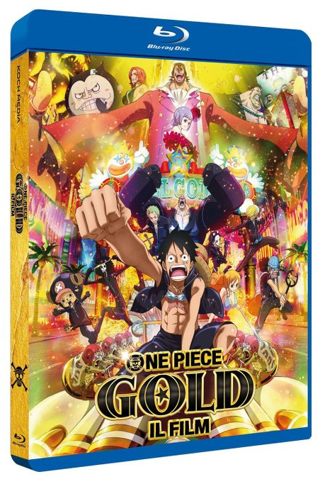one piece gold film bluray