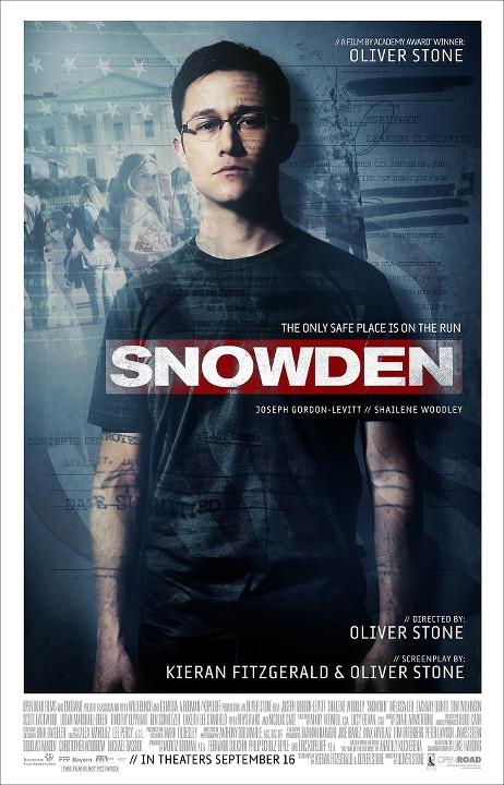 Σνόουντεν (Snowden) Poster