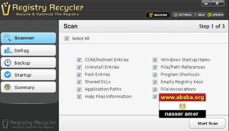 برنامج تنظيف الريجستري وتسريع الجهاز Registry Recycler 0.9.2.9 بوابة 2016 pIICYq.jpg