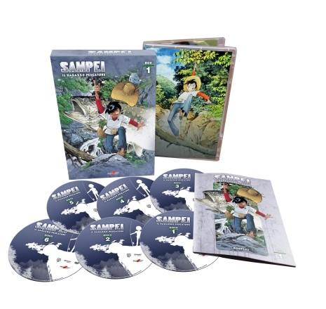 sampei dvd nuova edizione box 1