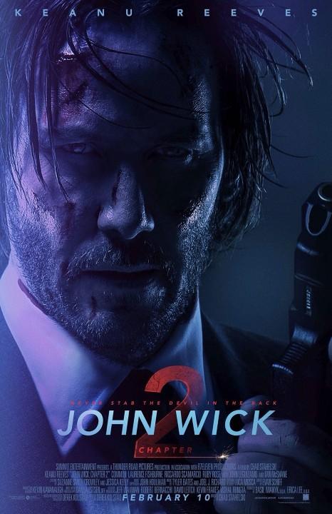 John Wick: Κεφάλαιο 2 (John Wick: Chapter 2) Poster