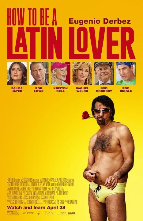 Πώς να γίνεις Λατίνος Εραστής (How to Be a Latin Lover) Poster