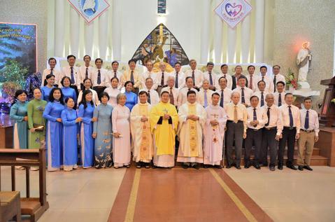 Giáo xứ Tân Phước: Mừng bổn mạng