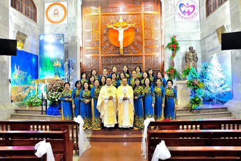 Gx.Vĩnh Hòa: Lễ Mẹ Thiên Chúa