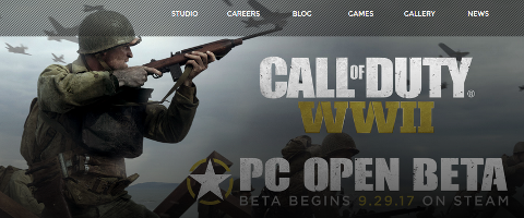 Call of Duty WWII Open Beta
