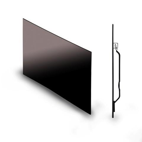Far Infrared Heating Glass Panel Black Energy Efficient