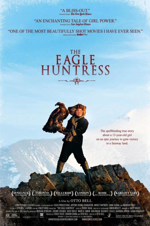 Η κυνηγός με τον αετό (The Eagle Huntress) Poster