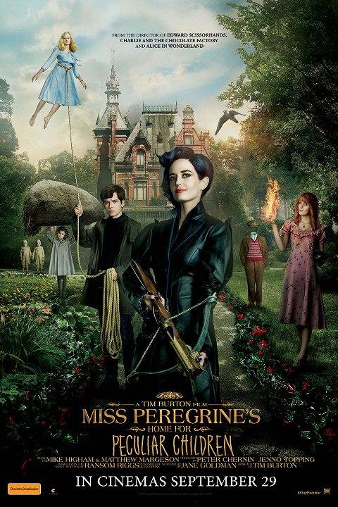 Μις Πέρεγκριν: Στέγη για Ασυνήθιστα Παιδιά (Miss Peregrine's Home for Peculiar Children) Poster