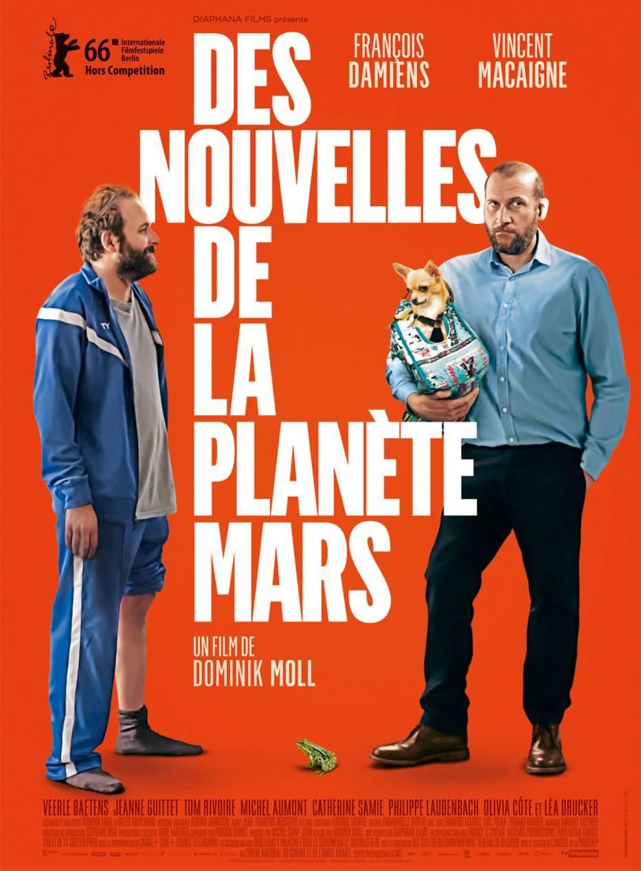 Από άλλον πλανήτη (Des nouvelles de la planète Mars) Poster