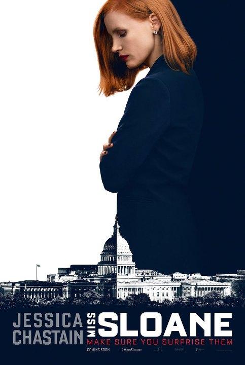 Κυρία Σλόαν (Miss Sloane) Poster