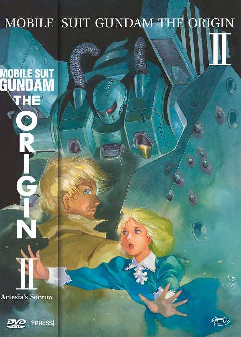gundam the origin 2 dvd