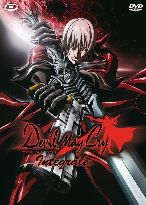 devil may cry dvd box anime