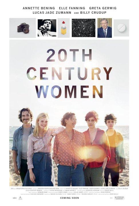 Καταπληκτικές Γυναίκες (20th Century Women) Poster