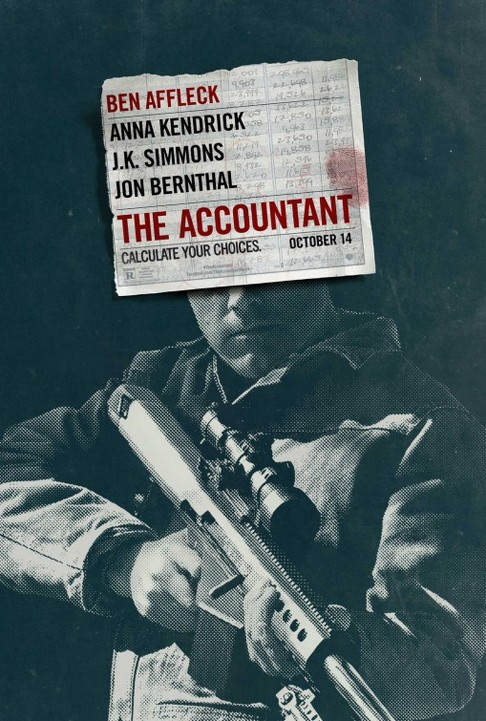 Ο Λογιστής (The Accountant) Poster