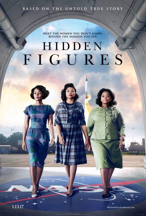 Αφανείς Ηρωίδες (Hidden Figures) Poster