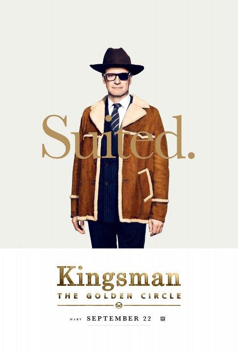 Kingsman: Ο Χρυσός Κύκλος (Kingsman: The Golden Circle) Poster