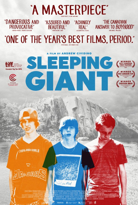 Κοιμώμενος γίγαντας Sleeping Giant Poster