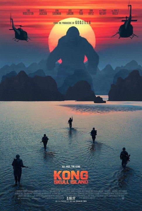 Kong: Η νήσος του κρανίου (Kong: Skull Island) Poster