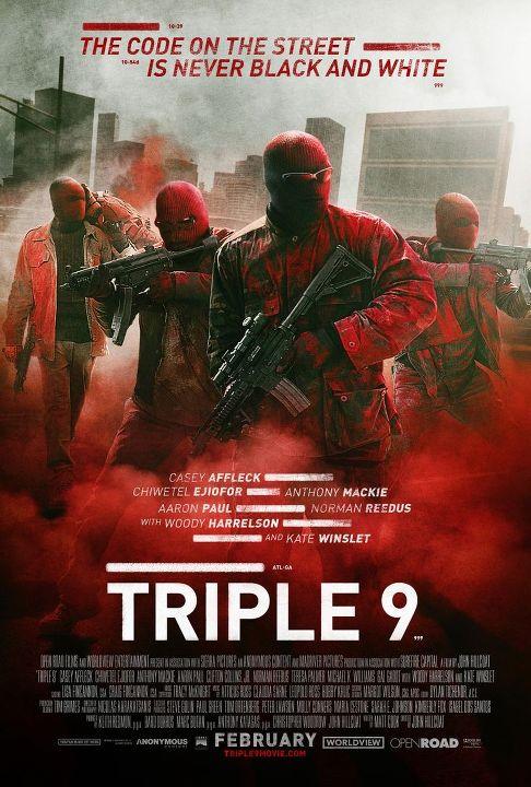Κωδικός 999 (Triple 9)  Poster