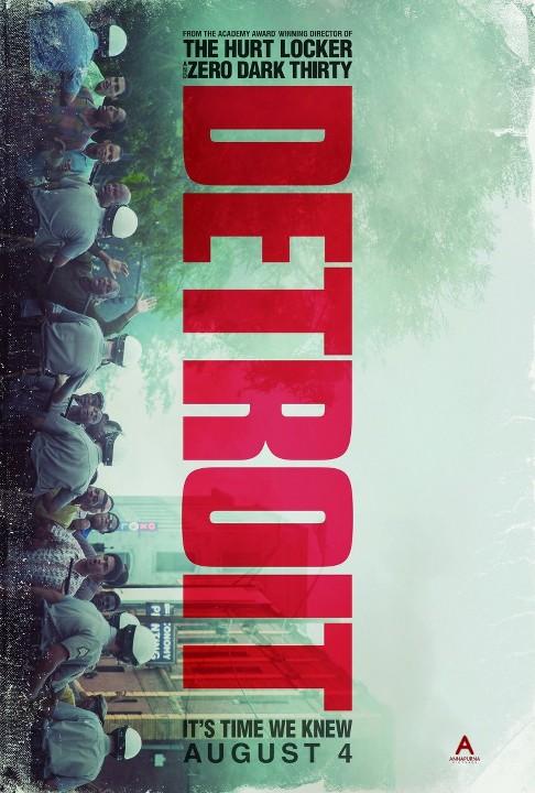 Detroit: Μια οργισμένη πόλη (Detroit) Poster