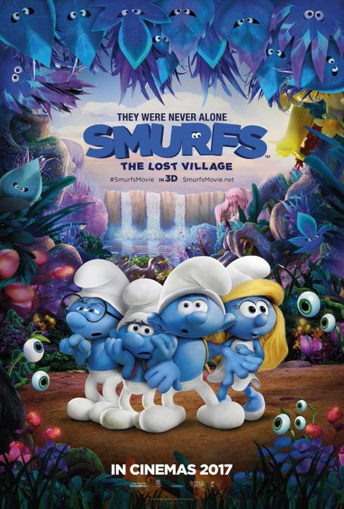 Στρουμφάκια: Το Χαμένο Χωριό (Smurfs: The Lost Village) Poster