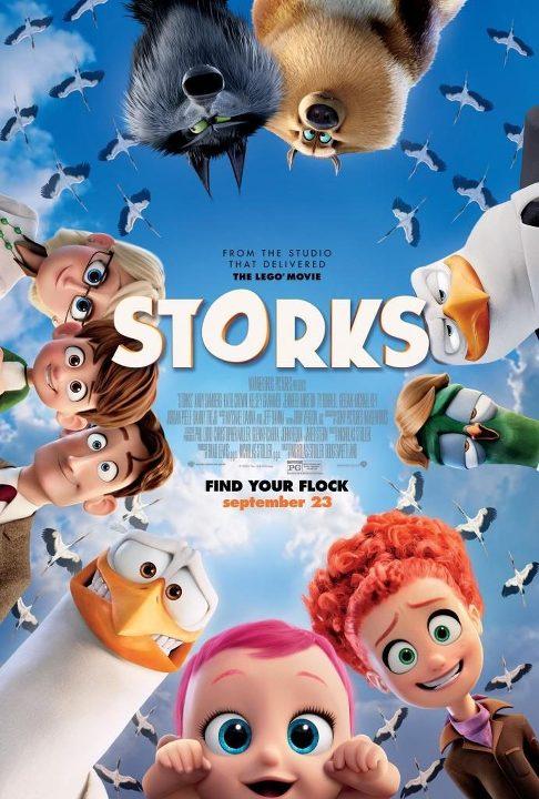 Πελαργοί (Storks) Poster