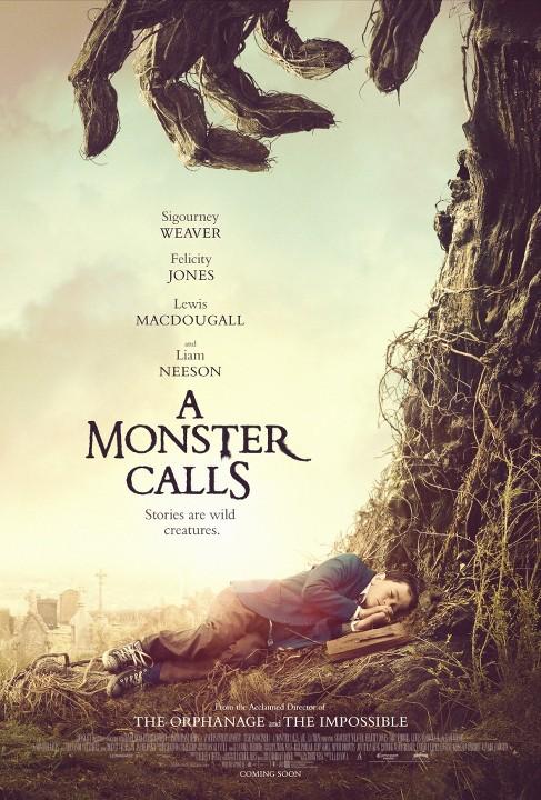 7 Λεπτά Μετά τα Μεσάνυχτα (A Monster Calls) Poster