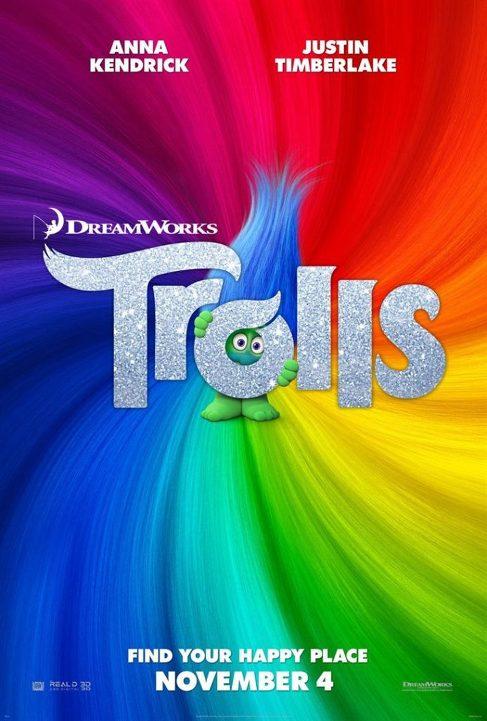Οι Ευχούληδες (Trolls) Poster