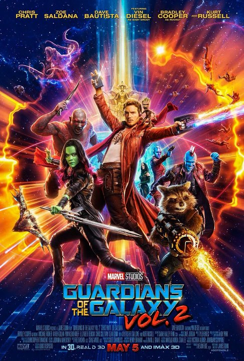 Φύλακες του Γαλαξία 2 (Guardians of the Galaxy Vol. 2) Poster