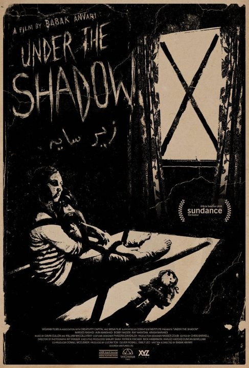 Στη σκιά του φόβου (Under the Shadow) Poster