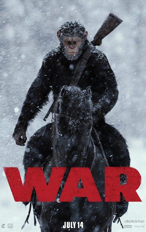 Πόλεμος για τον Πλανήτη των Πιθήκων (War for the Planet of the Apes) Poster