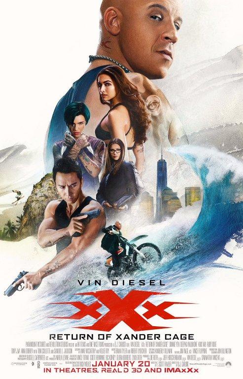 xXx: Επανεκκίνηση (xXx: Return of Xander Cage) Poster