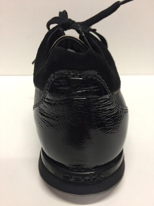Rrwqtfg D93w4d Originali Shoes Geox Scarpe Donna Pisa Black Pelle Casual yNmnv0PO8w
