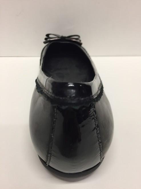 SCARPE SABOT BALLERINA DONNA GEOX ORIGINAL LOLA D93M4P BLACK PELLE SHOES LEATHER