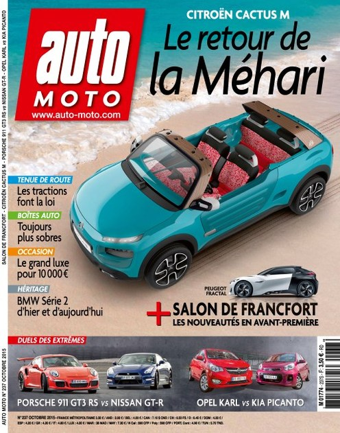 Auto Moto 237 - Octobre 2015