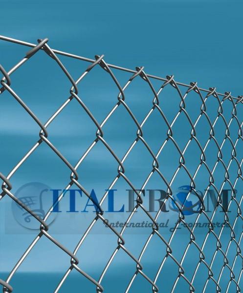 Mt galvanized chain link roll mesh cm wire