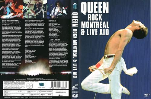 Queen: Rock Montreal & Live Aid Torrent - BluRay Rip 1080p Dual Áudio 5.1 (2007)