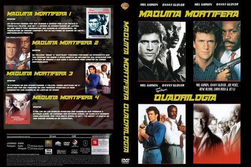 Coleção Máquina Mortífera Torrent BluRay Rip 720p Dual Audio (1987 - 1998)