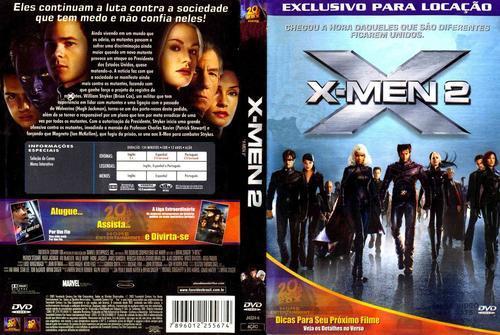 X-Men 2 Torrent - BluRay Rip 720p e 1080p Dublado (2003)