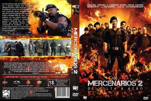 Os Mercenários 2 Torrent - BluRay Rip 720p Dublado