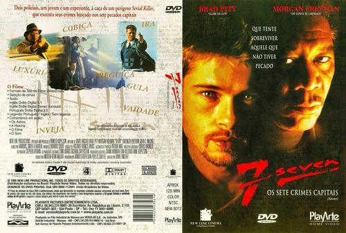 Seven: Os Sete Crimes Capitais Torrent - BluRay Rip 1080p Dual Áudio (1995)